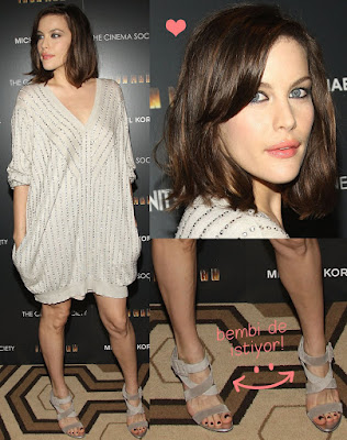Liv Tyler Short Haircut