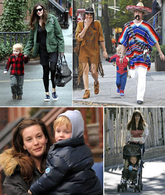 Liv Tyler ve ailesi