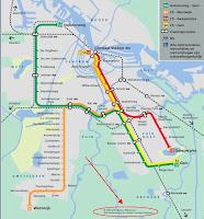 GVB metro map