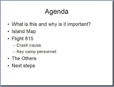 format of agenda of meeting