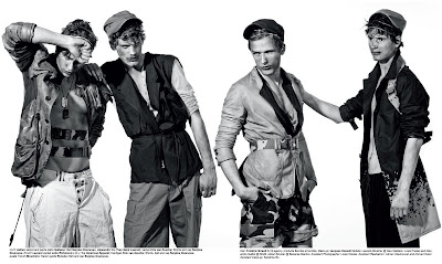 Adrien Brunier, Louis Prades, Alexandre Gaillot & Laurent Albucher by Yannick Leconte for Guapo Magazine