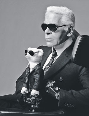 Karl Lagerfeld Lazy? So He Says.