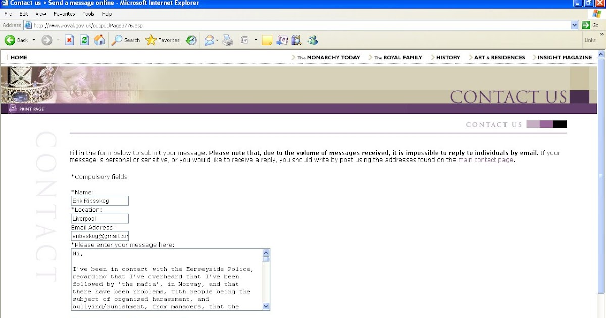 90a631cea johncons: E-mail to the Queen.