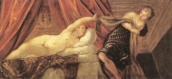 Le Tintoret, Joseph et Mme Potiphar, 1555 env.