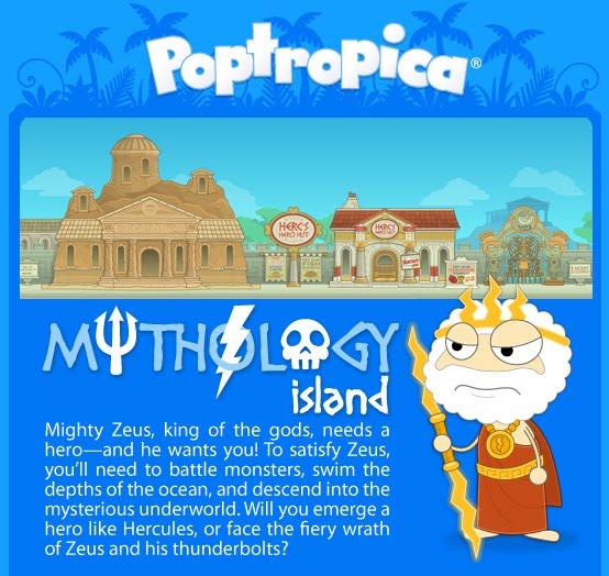 Poptropica Mythology Island Walkthrough Mythology Island