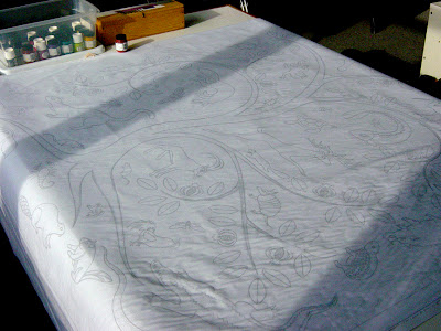 How to thin textile paints