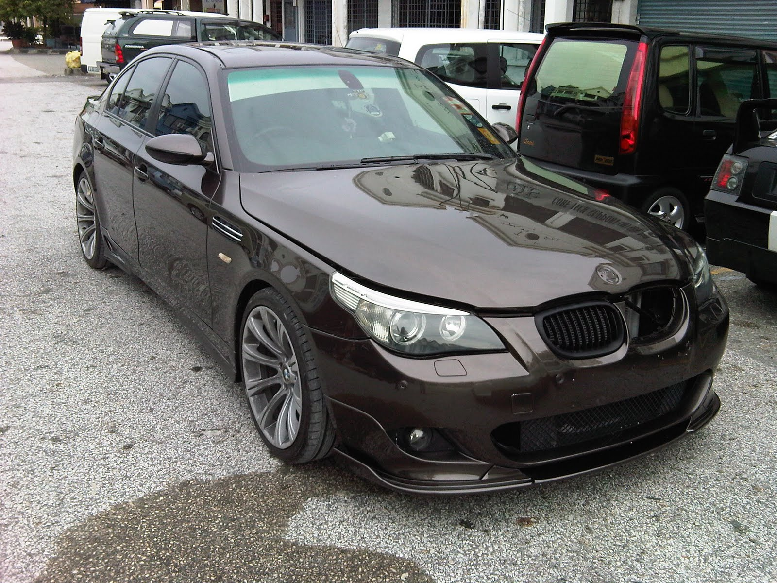ats painting bodywork bmw e60 hamman conversion. Black Bedroom Furniture Sets. Home Design Ideas