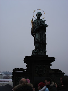 Статуя Яна Непомуцкого