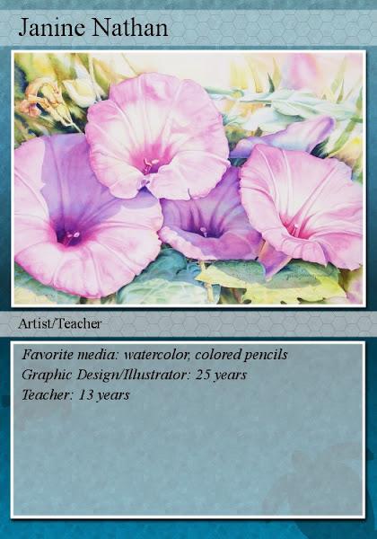 My Artist Trading Card