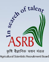Recruitment by  Agricultural Scientists' Recruitment Board ASRB