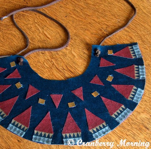 Cranberry Morning Kids Ancient Egyptian Headdress And Collar