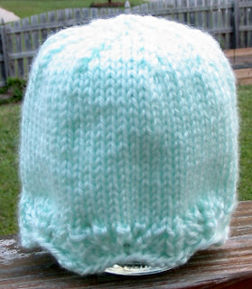 This very simple but very elegant preemie hat is made from a small amount  of yarn 819ac424710