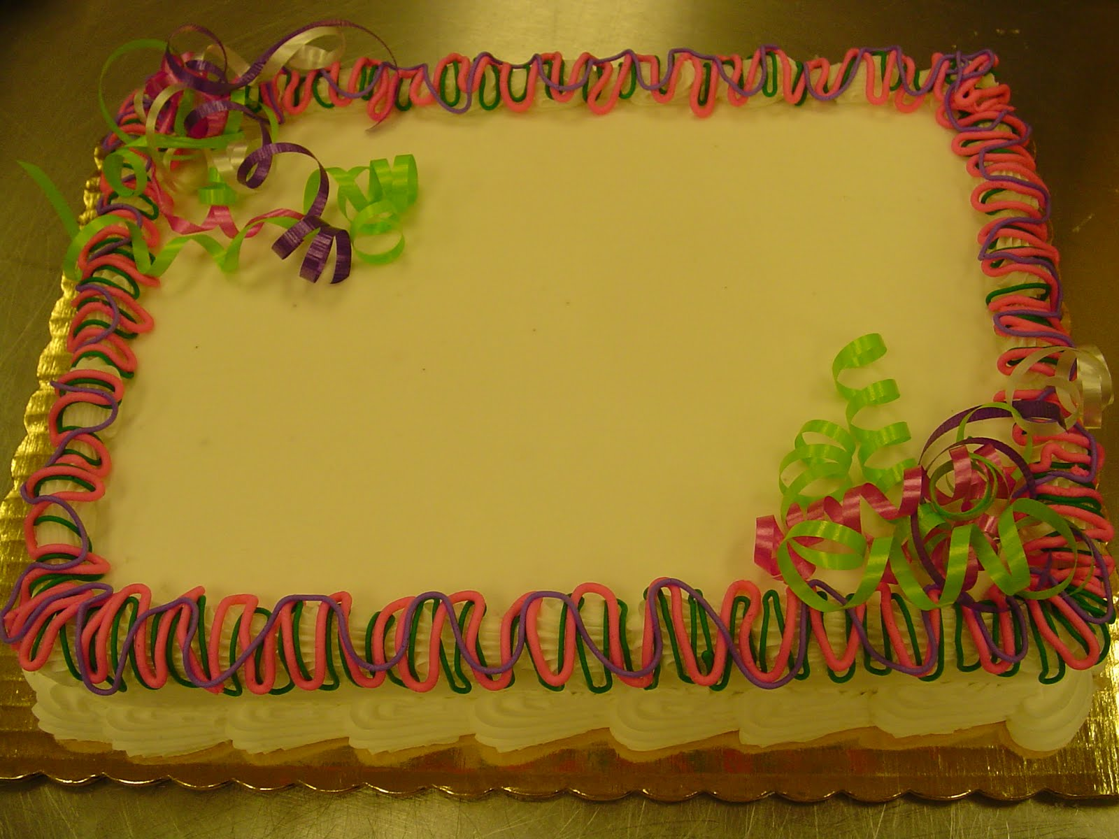 Becky S Sweets Bakery Sheet Cakes