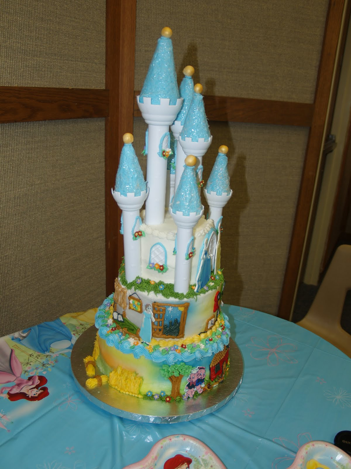 Becky S Sweets Disney Themed Cake
