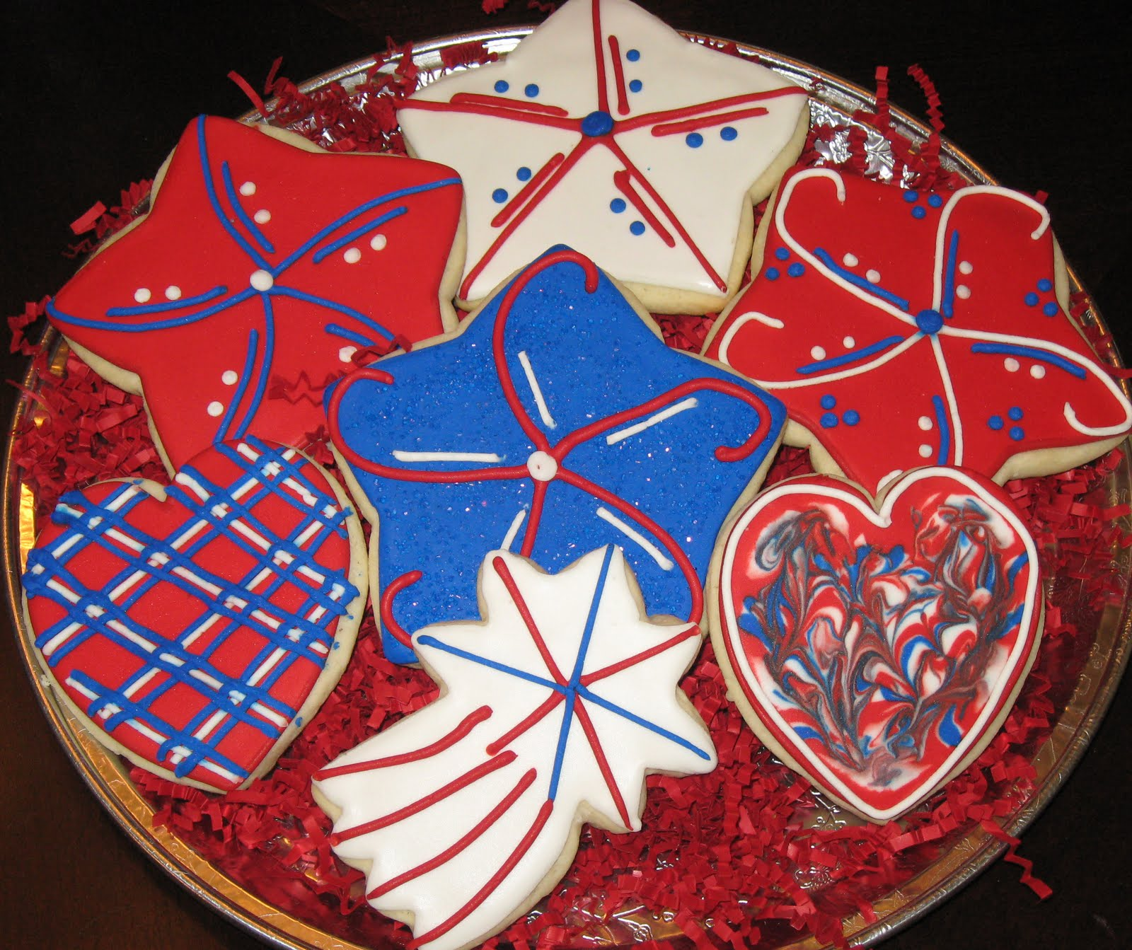 Sweet Serendipity: 4th of July Cookies