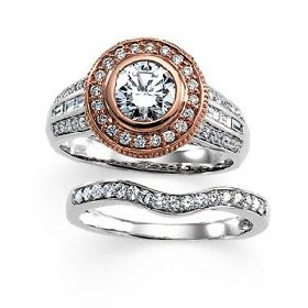 halo style diamond engagement rings
