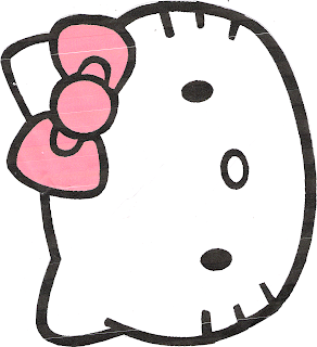 hello kitty cut out template my creative place hello kitty gift bag