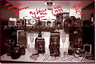 My Antique Camera collection