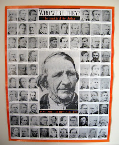 Poster of Nevin's convict portraits