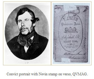 Convict Smith stamped verso