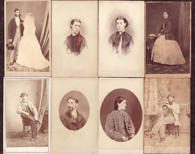 Thomas Nevin's portraits of self, wife, brother and sister 1860s-1880