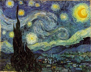 La noche estrellada, de Vicent Van Gogh