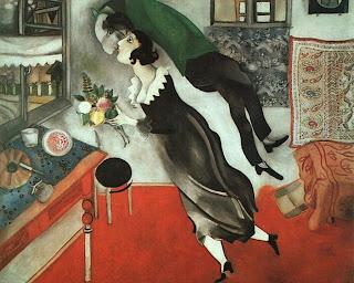 El cumpleaños, Marc Chagall