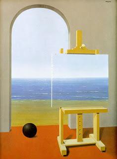 La condición humana, René Magritte
