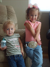 My lil' cowgirls!