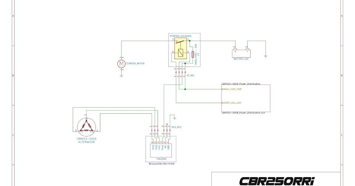 Project CBR250RRi: Wire Harness Design