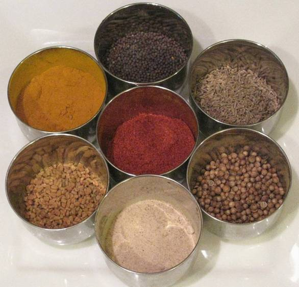 The Vegetarian Way List Of Indian Spices-7905