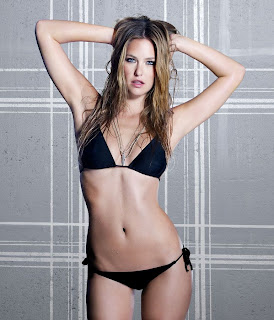 Bar Rafaeli In A Black Bikini
