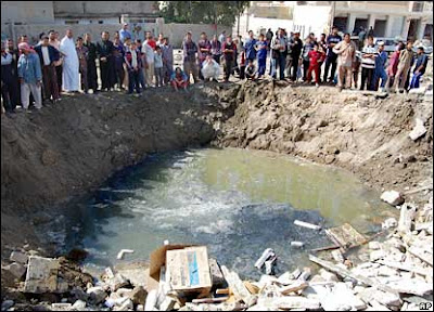 Ramadi,Iraq- coalition airstrike March 2007 ap-bbc