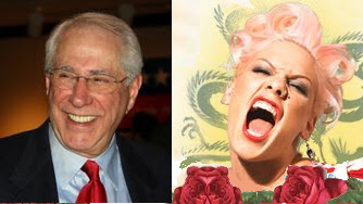 image: Mike Gravel and Pink, er P!nk