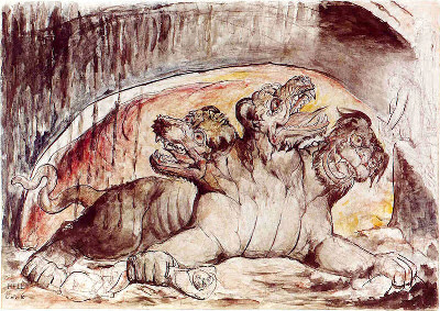 image: William Blake's Cerebrus