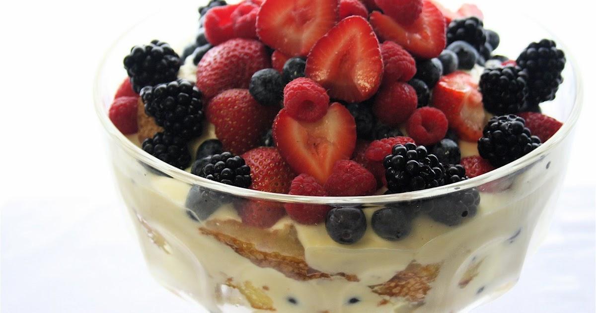 alexandra's kitchen: Summer Berry Trifle