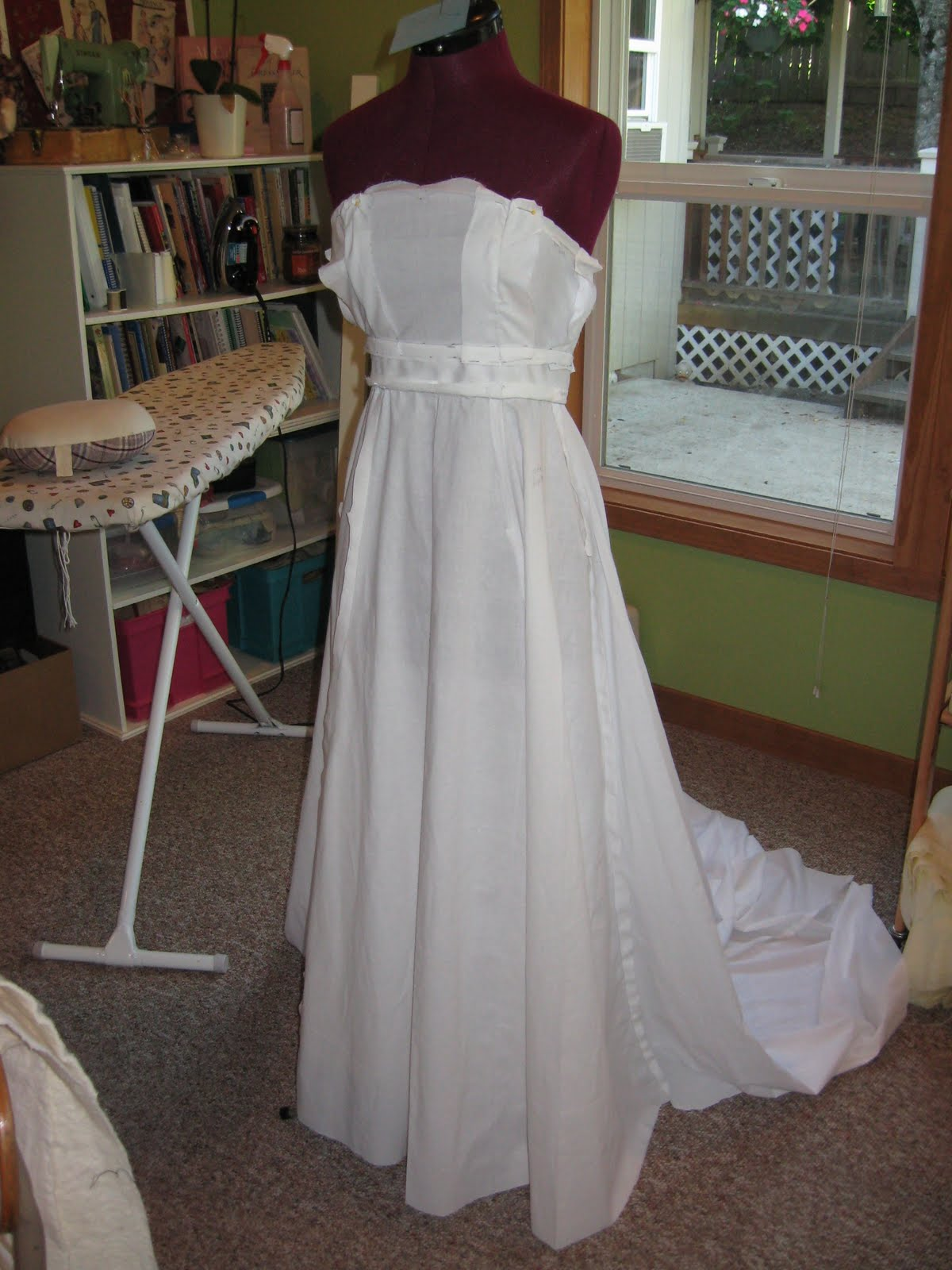 Artistic Quilting Sewing A Wedding Dress
