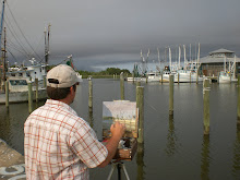 Painting in Apalachicola