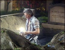 Ever dug up your ex-wife's grave?