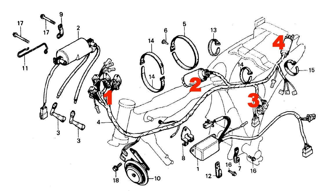 Honda CB250n SuperDream Refurb: VJMC PLATE