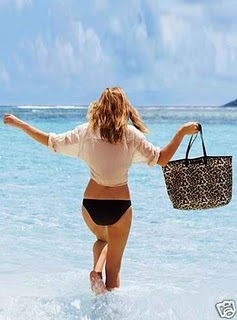 Victoria S Secret 2010 Beach Collection Leopard Tote Bag Gorgeous Stunning Prints Great For Or Everyday Use Brand New In Material Pvc