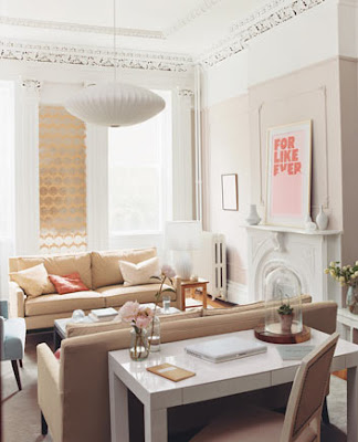 Featured In Domino The Parsons Desk Is Used Living Room Of Jessie Randall And Brian Murphy Designers Loeffler