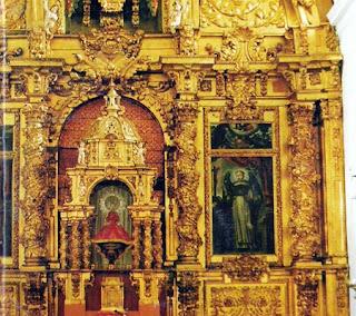 Retablo de la Iglesia de San Pedro (Bernardos)