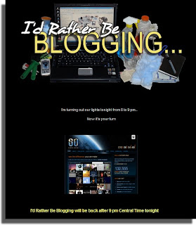 Darkened Blog