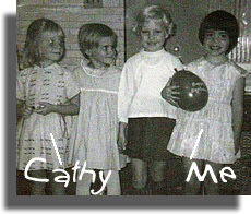 My 5th birthday party, 1965
