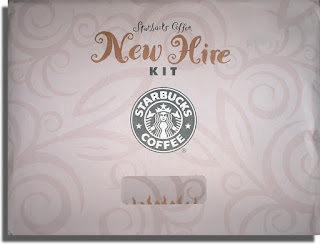 Starbucks New Hire Kit