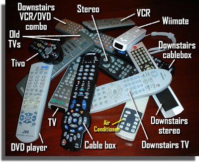 Ahhh! Too many remotes!!!