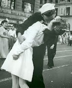 Sailor Kissing Nurse on VJ Day