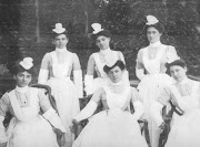 Nurses at Spring Grove Mental Hospital, Maryland, 1897