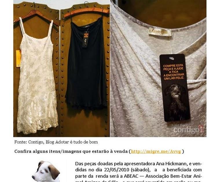 ABEAC  Eventos ABEAC  bazar com roupas doadas por Ana Hickmann é neste  sábado (22 5). Não percam! 01c2e05ec7